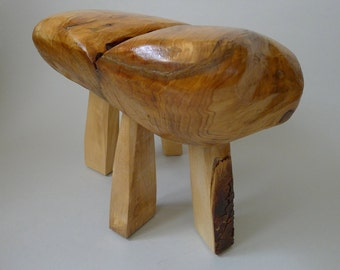 Hand Made Wooden Seat