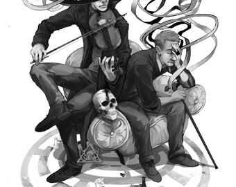 Ribbon, Sherlock and John