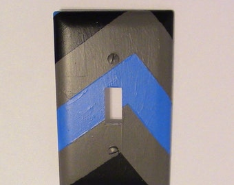 Chevron Striped Light Switch Covers