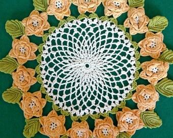 Vintage Flower Doily