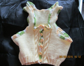 Fitted Knitted vest,