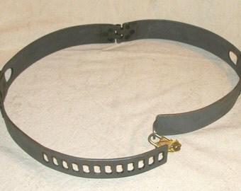 BDSM Dungeon Gear Iron Waist Belt and Cuff Set