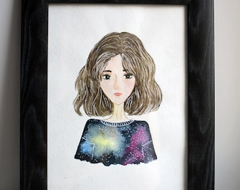 Portrait of the girl