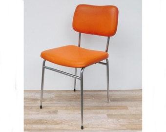Kitchen Chair 70 years orange