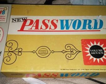 Vintage MB Password game