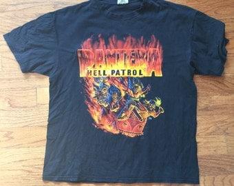 Pantera Hell Patrol Vintage tshirt