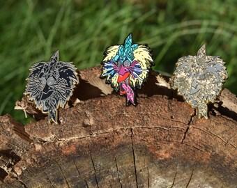 Full set of Raw-Fiki hat pins