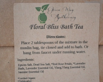 Floral Bliss Bath Tea