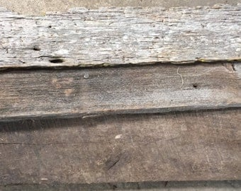 Authentic barnwood from the south