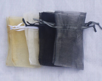 Organza Bags Pack of 10 - Small