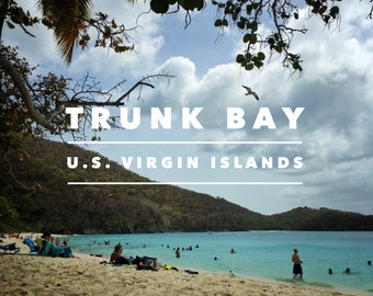 Trunk Bay, U.S. Virgin Islands Print
