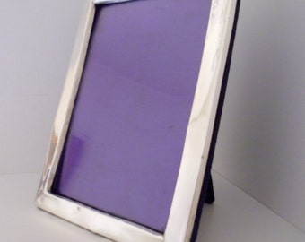 Antique Silver Picture Frame