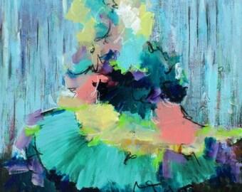 Pop Tart - Acrylic Painting