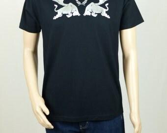 "T-shirt black man ""BULLS LEGION"""