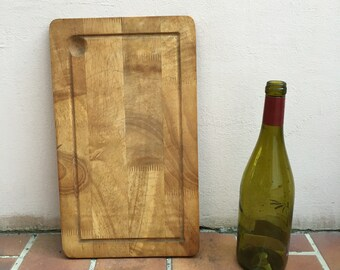 ANTIQUE VINTAGE FRENCH bread or chopping cutting board wood 311