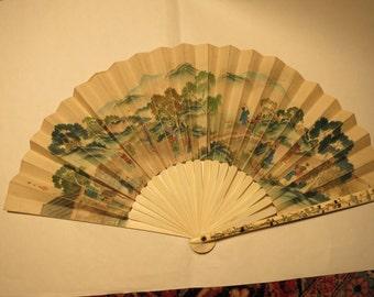Japanese Antique Fan