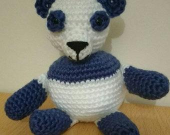 Hand made Amigurumi panda