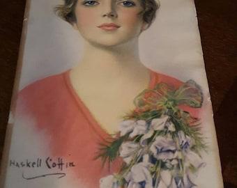 1920's Haskell Cottin litho Print.
