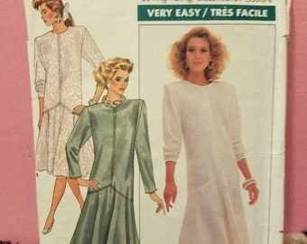 1987 Butterick Ellen Tracy Dress Pattern