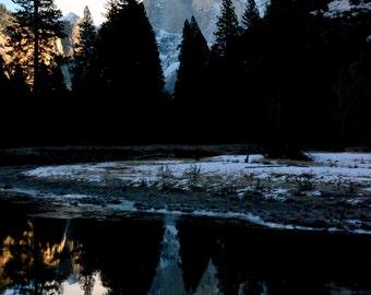 Half Dome Mountain at Yosemite Park