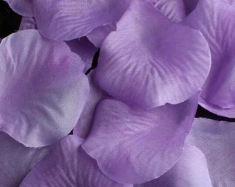1500 Light Purple Rose Petals Wedding Rose Petals Party Decorations Confetti
