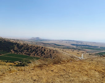 View from Har Bental, Northern Israel