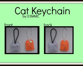 Cat Keychain (Read Description)