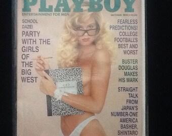 Playboy October 1990