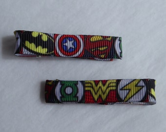 Superhero Hair Slides