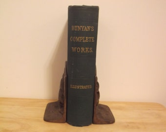 The Complete Poetical Works of John Bunyan 1872 Illustrated Decorative Cover