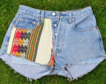 LEVIS 501 SHORTS light denim