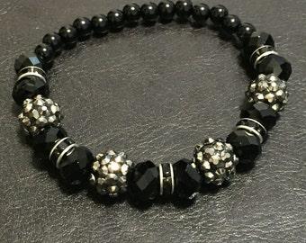 Black Sparkle Bracelet