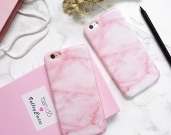 PINK MARBLE iPhone case