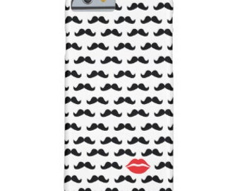Lips and Mustache Phone Cover
