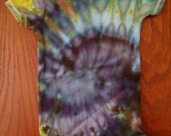 Tie Dye Onsie, 12 Months