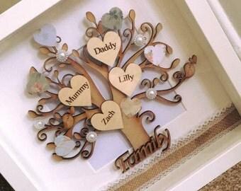 Family Tree Hand Made Frame