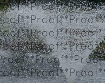 """Fountain  Lithograph 18"""" x 24"""""""