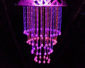 Optic Fiber Chandelier Outdoor Lighting