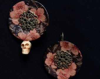 "Earrings / Earrings ""Días de los muertos"""