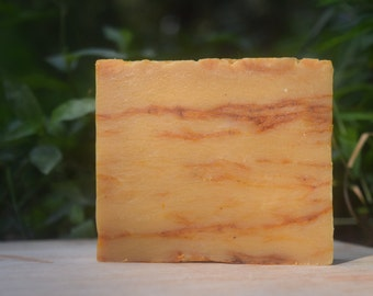 Handmade Pumpkin Pie Soap