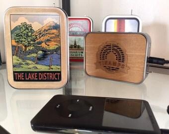 Lake District Tin Amp Portable Speaker