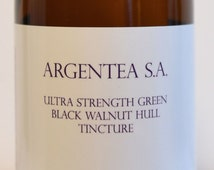 Ultra Strength Green Black Walnut Hull Tincture 8 Oz. by Argentea S.A.