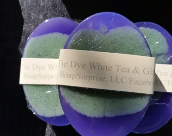 Tie Dye White Tea & Ginger