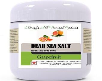 Dead Sea Exfoliating Body Scrub - 120g - 2 types!