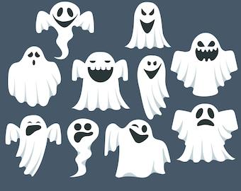 Ghost clip art, Ghost clipart, Halloween clipart, Halloween Clipart, Cute Ghost Clipart, Ghost Graphics