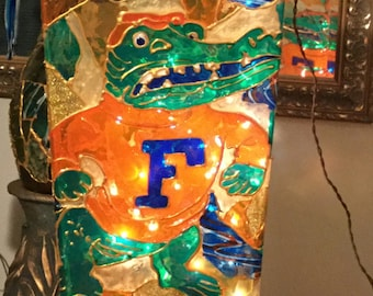 Gator Football Fan Lamp