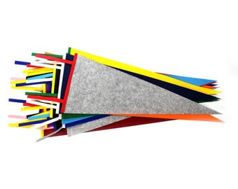 Blank Felt Pennant Flag