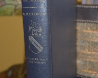 Shakespeare Major Plays and the Sonnets by G.B.Harrison | Hardback | Copyright 1948
