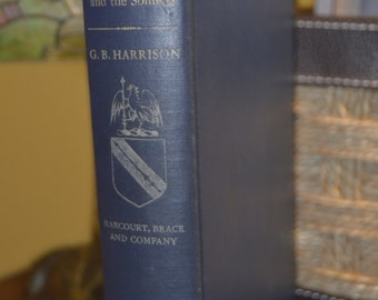 Shakespeare Major Plays and the Sonnets by G.B.Harrison   Hardback   Copyright 1948