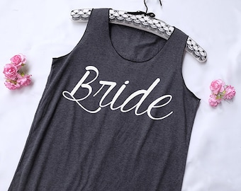 Bride Tank Top. Bridal Shirt. Bridal Tank Top. Bachelorette Shirt. Bachelorette Tank. Wedding Tank. Bride Shirt. Bride shower.Bride tank top